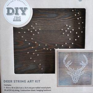 Deer string art kit